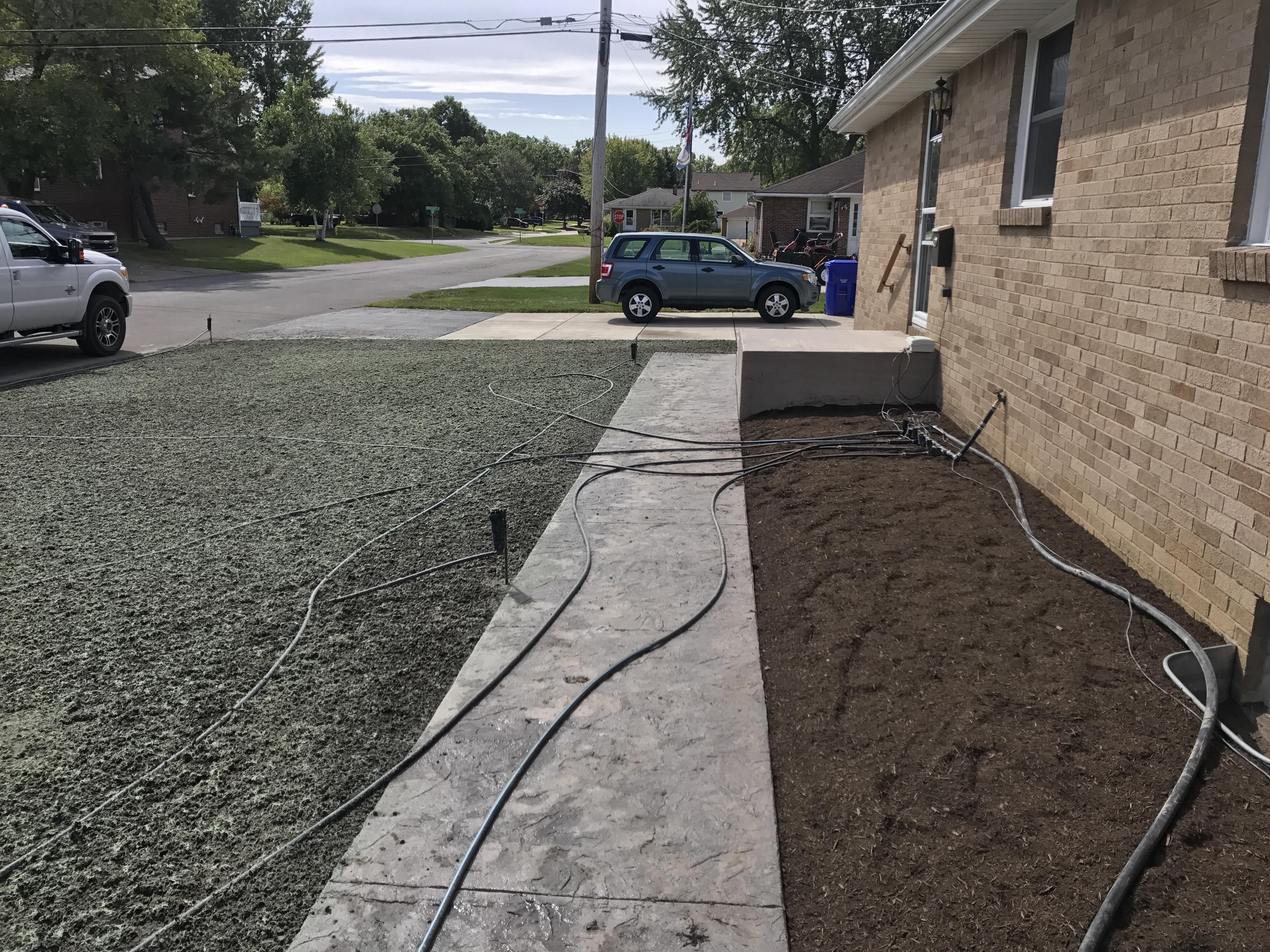 Temporary Irrigation System