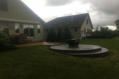 Turf Repair after Patio Installation