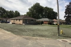 Seeding Front Lawn After Repair