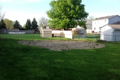 Turf Repair in Backyard