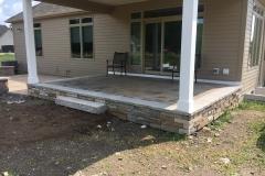 Rear Yard Porch