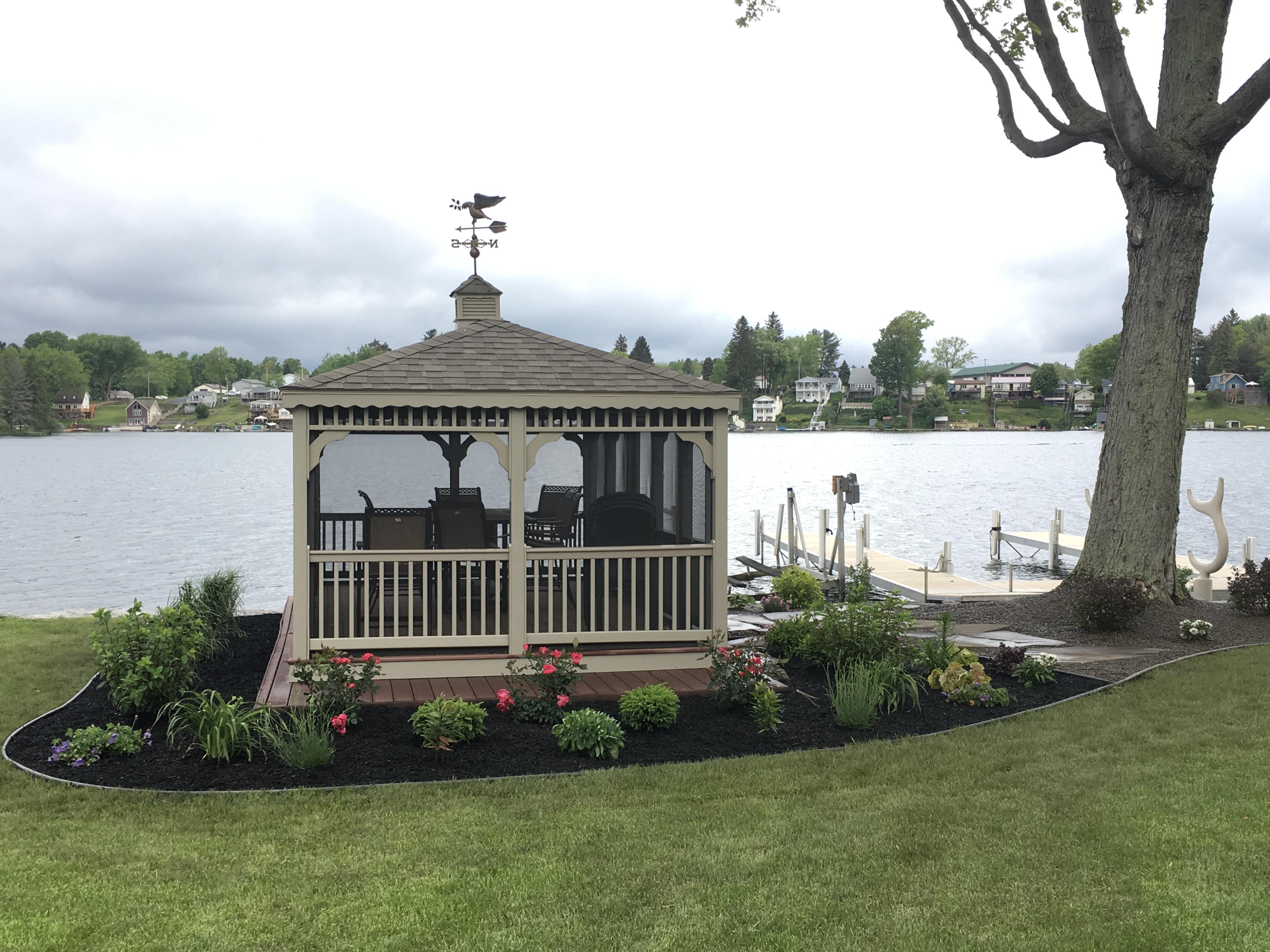 Lake Side Landscape