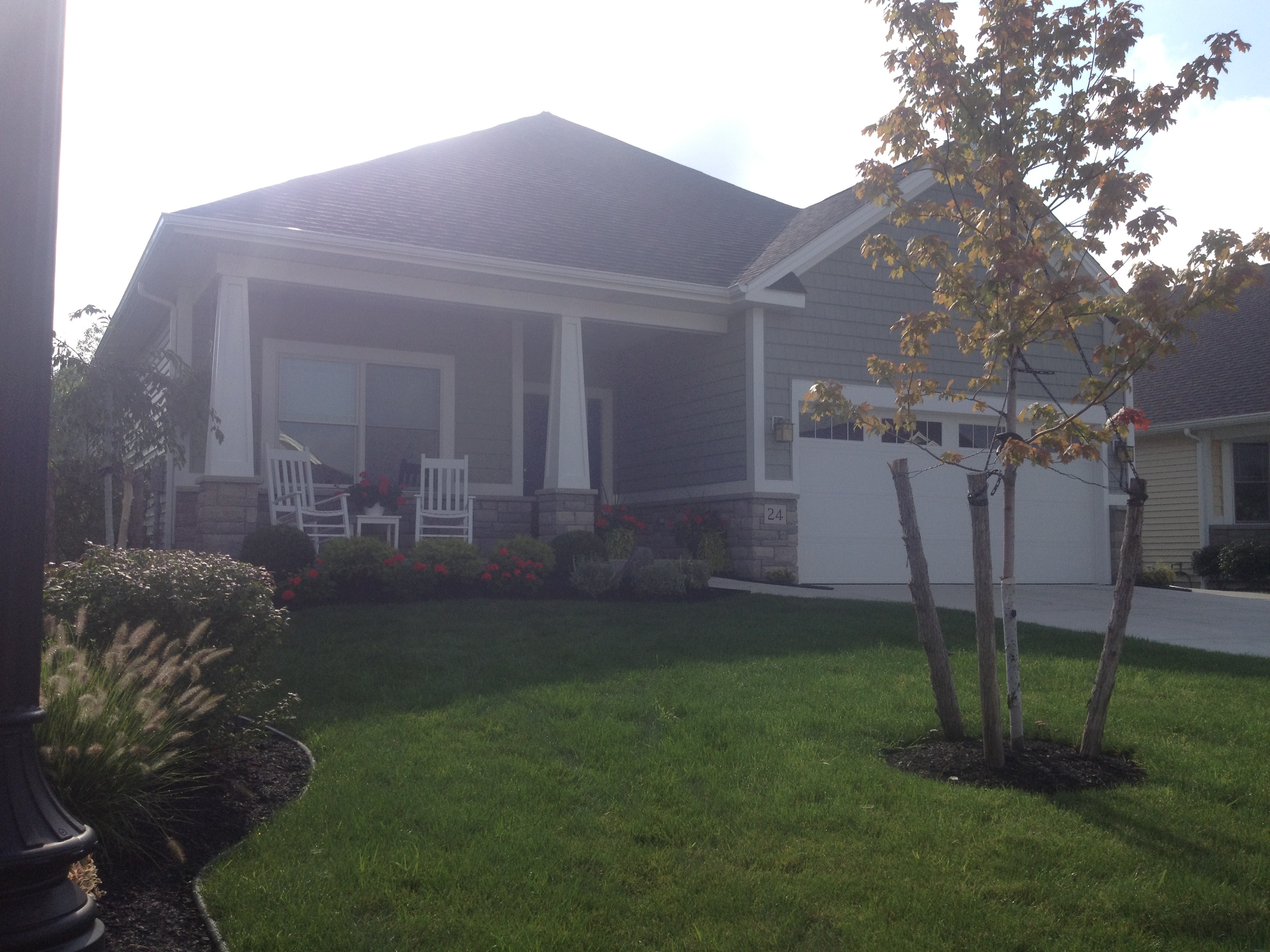 Front Yard Fully Landscaped
