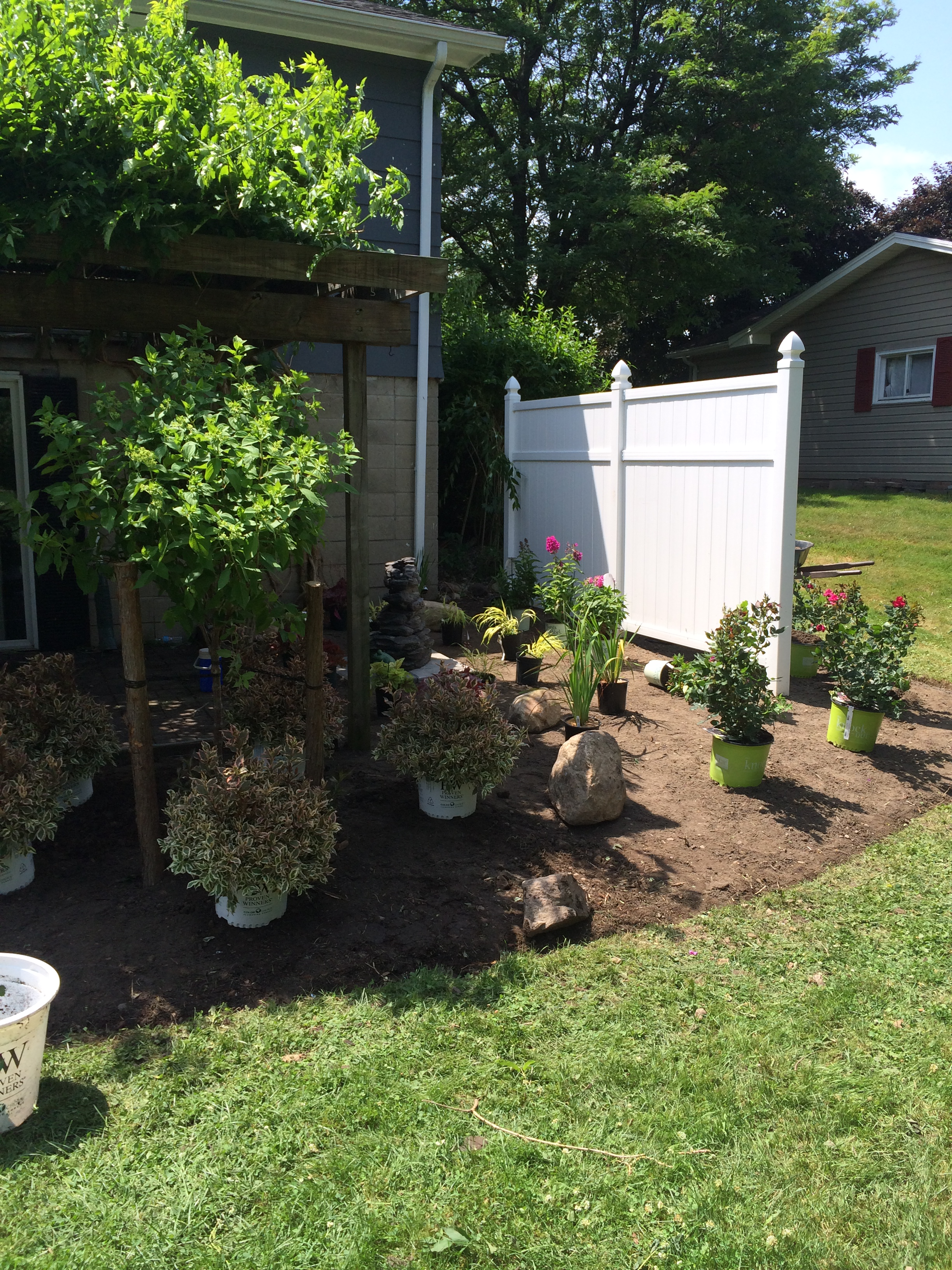 Building Beds / Placing Plants