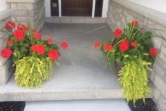 Front Porch Pots 2