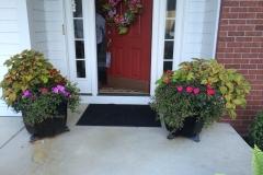 Front Porch Pots