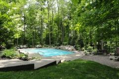 Natural Pool Setting