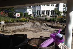 Elma Patio During Construction